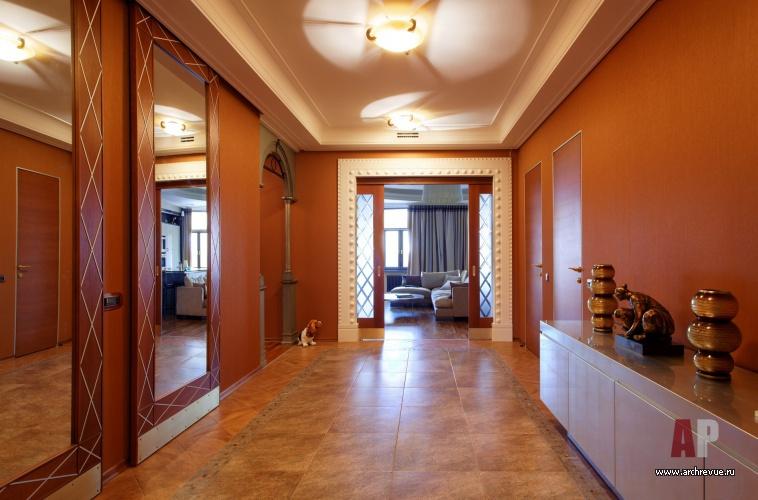Дизайн гостиной в стиле современной классики фото