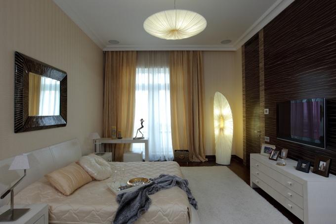 Дизайн спальни 16 метров фото