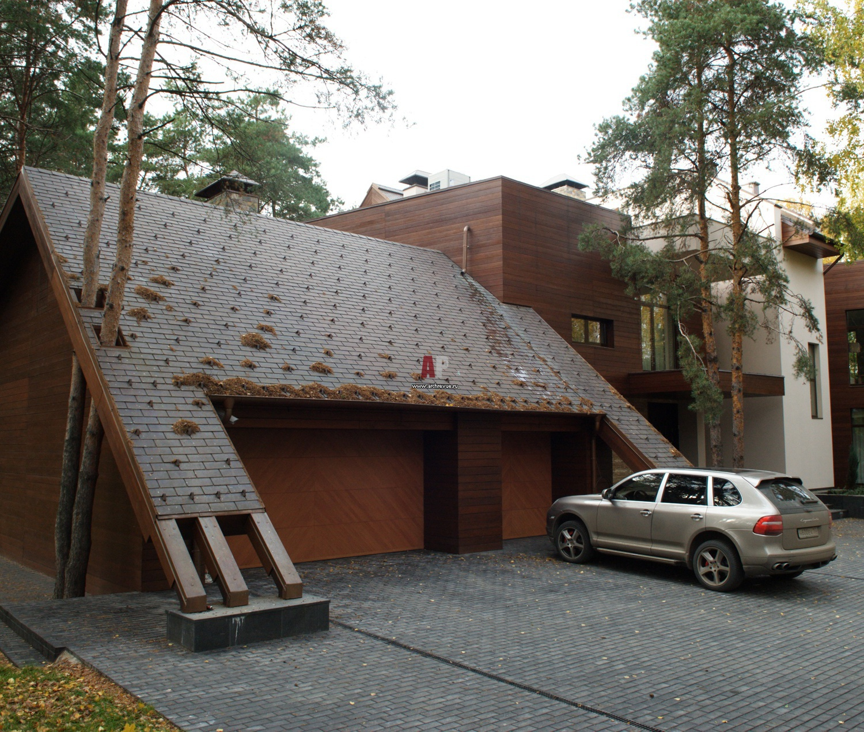 Дизайн частного гаража