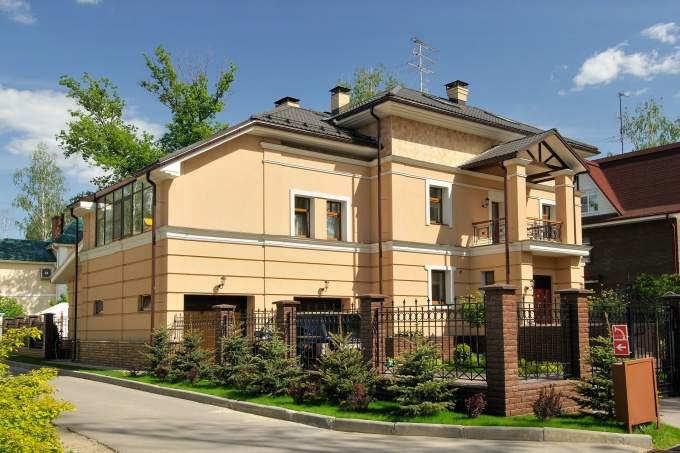 Коттеджи дизайн фасада