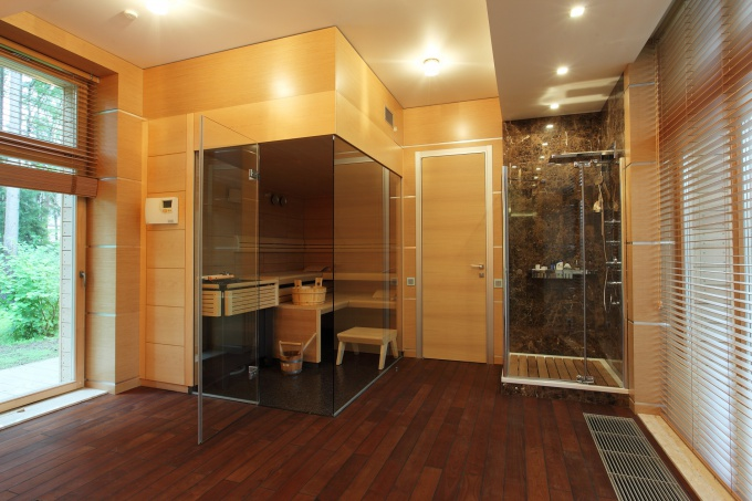 интерьер сауны фото | Дизайн. Фото: http://design.bigbo.ru/?p=2353