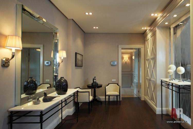Мебель в холле в стиле прованс сделана